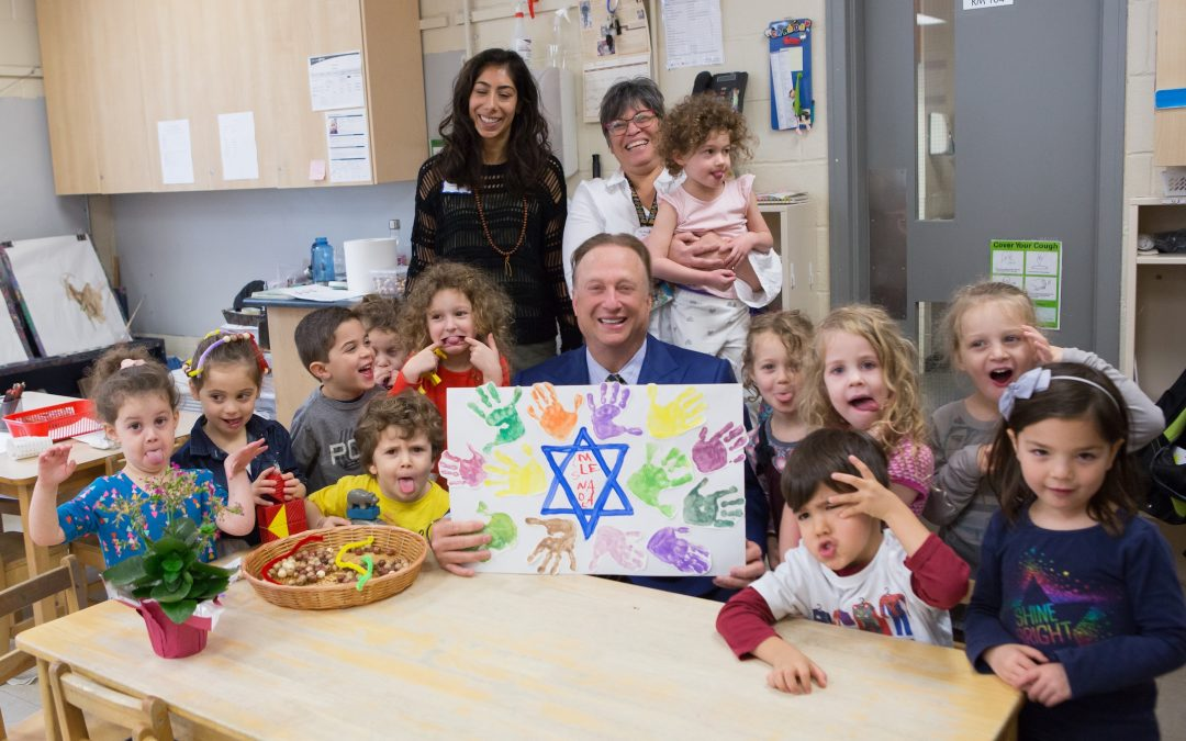 A VISIT TO THE MILES NADAL JEWISH COMMUNITY CENTRE