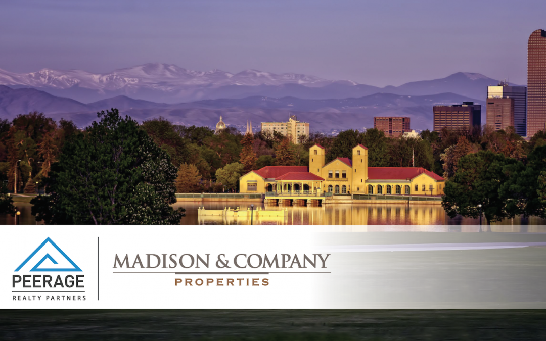 PEERAGE REALTY PARTNERS COMPLETES ACQUISITION OF SUBSTANTIAL PARTNERSHIP INTEREST IN LEADING INDEPENDENT RESIDENTIAL BROKERAGE IN DENVER