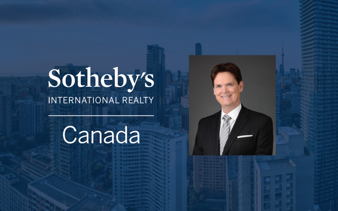 DON KOTTICK TO BE NAMED NEW PRESIDENT & CEO OF SOTHEBY'S INTERNATIONAL REALTY CANADA